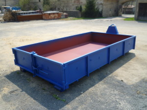 Otevřený (valníkový) kontejner