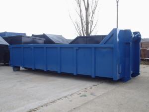 Abroll kontejner otevřený