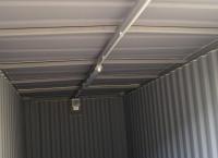 Skladový kontejner s vnitřek