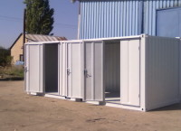 Skladové kontejnery v průmyslu