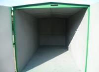 Skladový kontejner vnitřek
