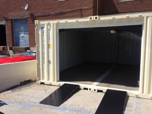 Garáž ze skladového kontejneru